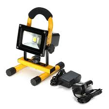 10w rechargeable flood light 10w led rechargeable flood light with magnetic stand 30 off