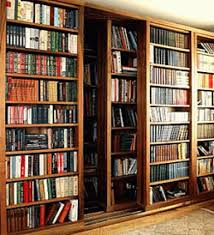furniture solid wood bookcases with sliding glass doors