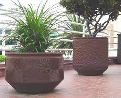 big planters pots large tree planters pots deepstream designs