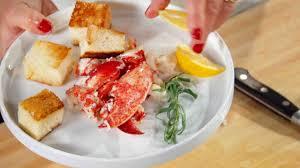Recipe Lobster Roll by Inside Out Lobster Roll Recipe U0026 Video Martha Stewart
