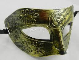 silver mask masquerade masks mens retro greco gladiator masquerade masks