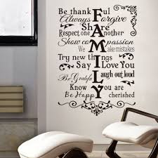 compare prices on quotes wall sticker online shopping buy low creative family rules quote wall stickers home wall sticker decals home decoration mural china