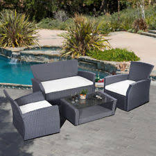 unbranded rattan up to 4 seats garden patio furniture sets ebay