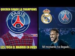 Chions League Memes - memes sorteo chions league real madrid vs psg y barcelona vs