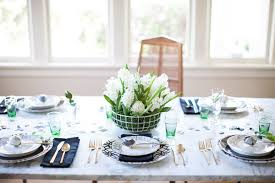 easter tabletop a fresh easter tabletop with a marble trellis motif coco kelley