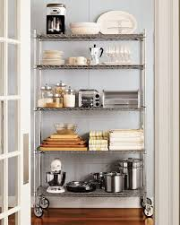 Shelving Ideas For Kitchen Kitchen Graceful Steel Kitchen Shelves Shelving Ideas Open Steel