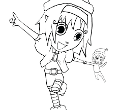 printable elf girl printable elf fifthbynorthwest org
