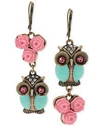 owl earrings owl earrings shop for and buy owl earrings online macy s
