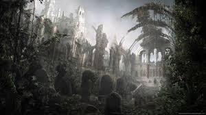 halloween graveyard background backgrounds
