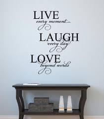 28 live laugh love home decor home decor wall art live live laugh love home decor live laugh love vinyl decal wall decor sticker words