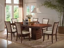 cherry wood dining table and chairs acme furniture pacifica casual dining room collection by dining