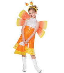 Catching Fireflies Halloween Costume Candy Corn Fairy Child Costume Chasing Fireflies Holiday