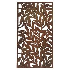 metal leaf wall art bronze foreside home u0026 garden target