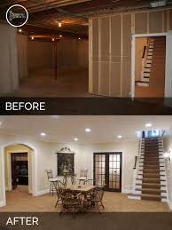 Low Ceiling Basement Remodeling Ideas Fantastical Before And After Basement Makeovers Best 10 Low