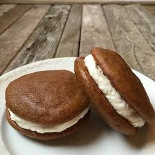 pumpkin whoopie pies with cheese filling taste and see