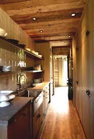 kitchen galley kitchen track lighting serveware ranges galley