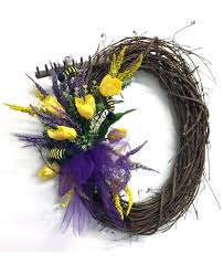 2017 grapevine wreath with small rake bouquet trendy tree blog