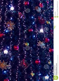 christmas tree and lights background stock photography image