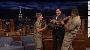 Robert Irvine Resume Crocodile Hunter U0027 Son Freaks Out Fallon Cnn Video