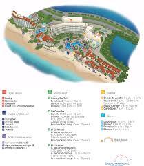 Cancun Map Grand Park Royal Cancun Caribe Cancun Transat