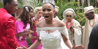 wedding pictures nollywood s lagos brings the wedding party to the 6ix s tiff