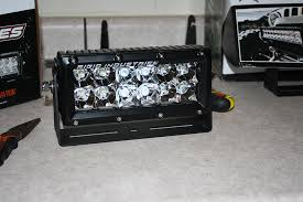 Rigid Rock Lights Rigid E Series Lights Install On Gobi Roof Rack 5th Gen 4runner