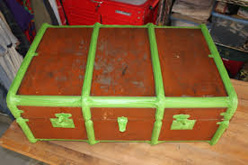 vintage steamer trunk the cavender diary