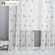Curtain Kitchen Online Get Cheap Sheer Green Curtains Aliexpress Com Alibaba Group