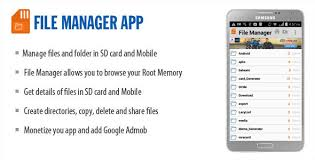 memory manager for android file manager by wpnova codecanyon