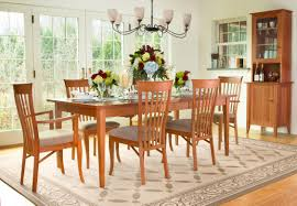 Cherry Wood Dining Room Furniture A Traditional Style Classic Shaker Dining Room Set Perfect For Any