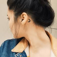 cover tattoo behind your ear 99 moon tattoos that will illuminate your imagination