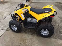 used 2012 can am ds 90 atvs for sale in california like new in