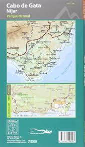 Cabo Map Cabo De Gata Wanderkarte 1 50 000 Amazon De Editorial Alpina