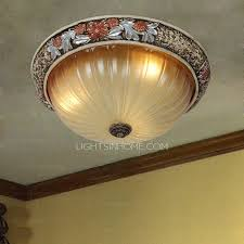 Best Ceiling Lights Ceiling Lights With Vintage Style Painting Beige Shade