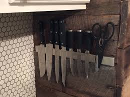 magnetic for kitchen knives 4 kitchen magnetic knife holder kitchen knife holder