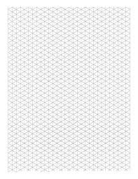 printable isometric paper a4 triangular graph paper triangle grid paper a inch isometric graph
