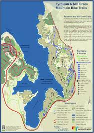 Spine Map Trail Maps Rolling Ground Jindabyne