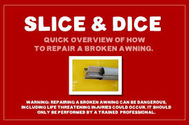 rv awning repair slice u0026 dice u2013 mx57