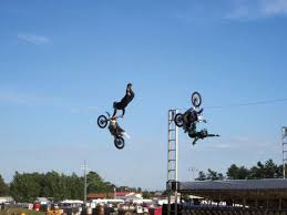trials and motocross news classifieds upper peninsula native brings cycle stunt show to escanaba news