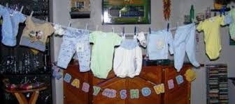 baby shower clothesline baby shower ideas on a budget
