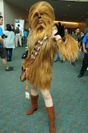 Wookie Halloween Costume Female Wookie Unseen Gaah