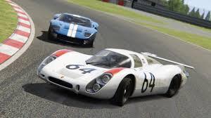porsche 908 le mans contenders ford gt 40 vs porsche 908 lh assetto corsa