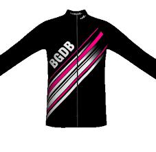 thermal cycling jacket team bgdb thermal cycling jacket black girls do bike shop online