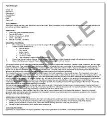 Waitress Resume Job Description by Writing An Effective Job Description The Hr