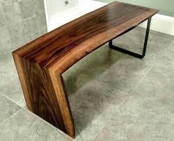 waterfall coffee table wood waterfall coffee table wood coffee table with chairs coffee cup