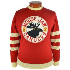 moose jaw canucks 1946 hockey sweater ebbets field flannels