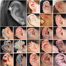 ear cuff jewelry cartilage ear cuff earrings ebay