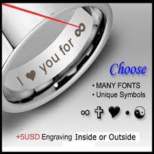 8mm ring size aliexpress buy men s 8mm pipe cut tungsten ring flat wedding