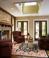 custom home interior 30 inspirational ideas for living rooms with skylights