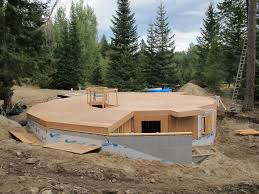 Floor Plans For Round Homes by Our Green Round Home A Project Diary About Building A Round